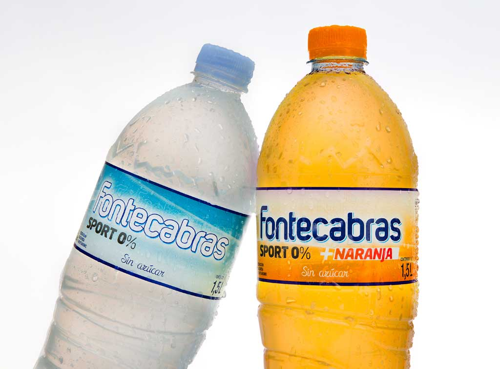 Diseño de etiquetas Fontecabras Sport