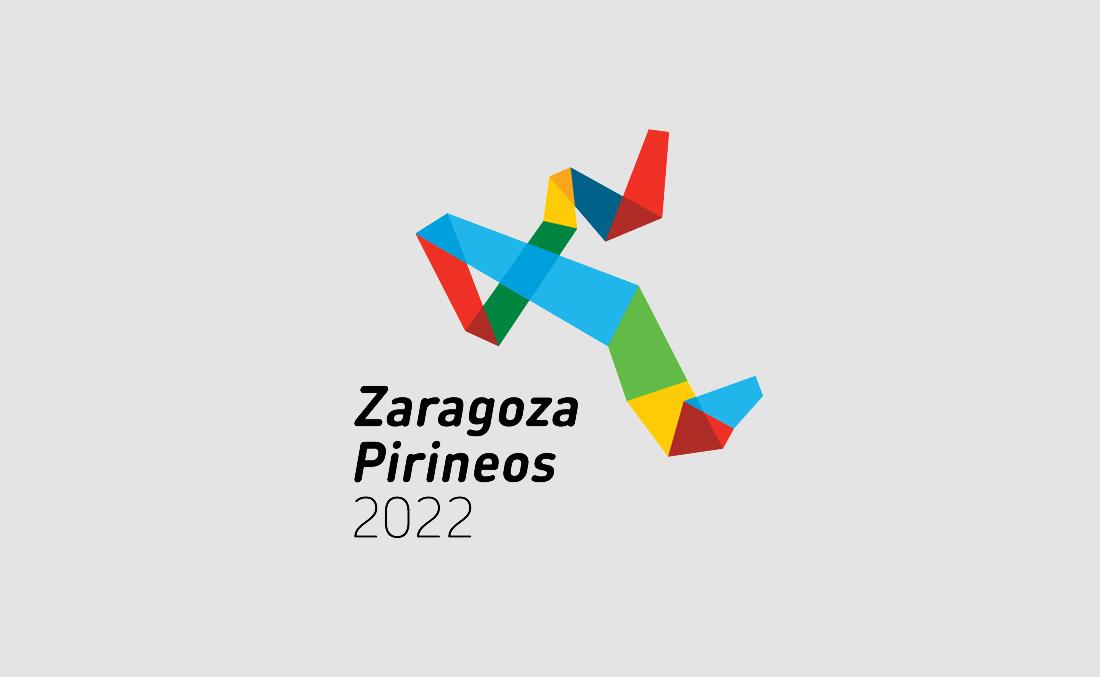 Diseño de logotipo para Zaragoza Pirineos 2022