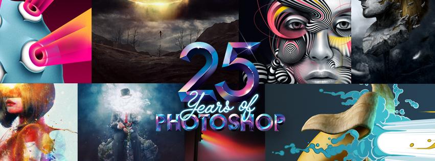 25 años de Photoshop, herramienta para el diseño gráfico
