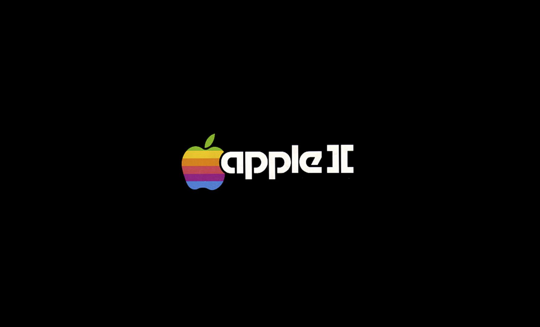 Logotipo de Apple, Apple II