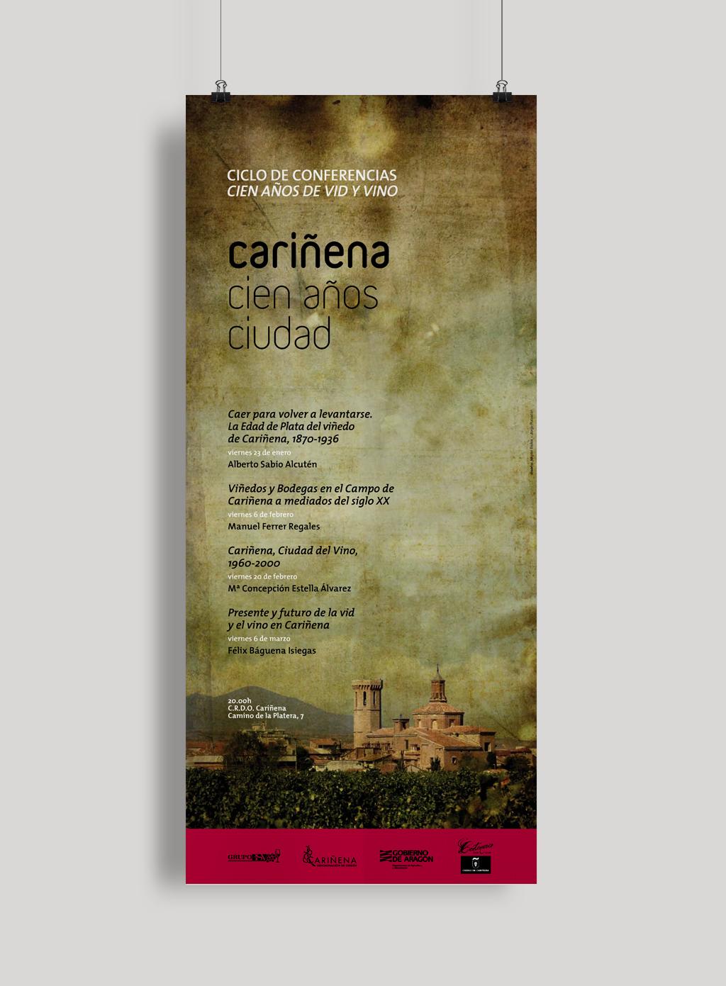 publicidad-carinena-cien-anos-ciudad-cartel-conferencia-vino
