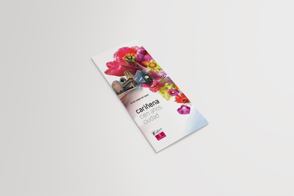 publicidad-carinena-cien-anos-ciudad-flyer