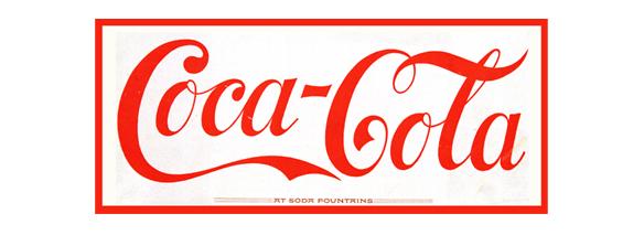 Logotipo original de Coca-Cola
