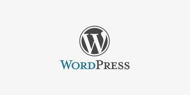 Logotipo de Wordpress, herramienta para el diseño de páginas web