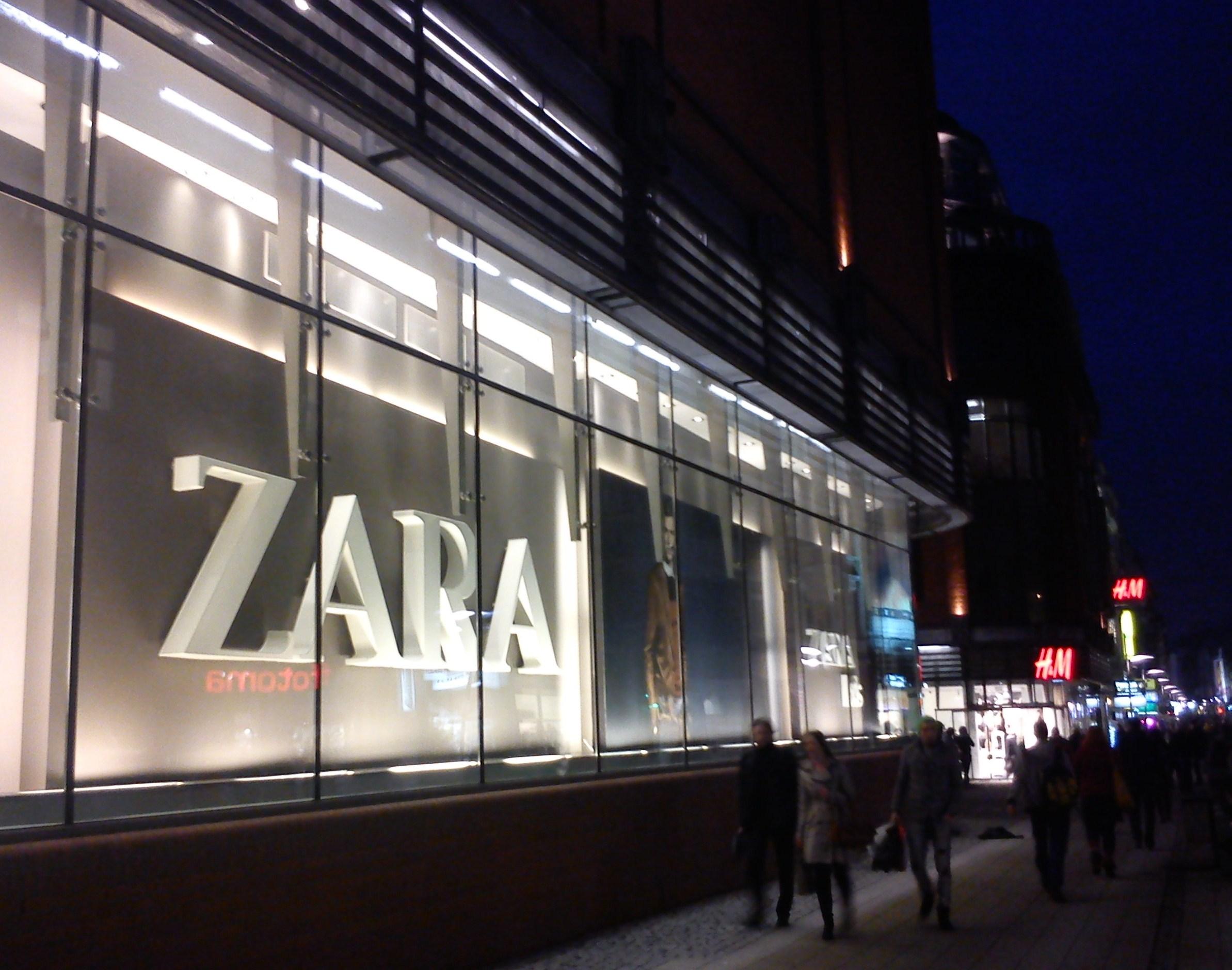 ZARA es una de las marcas españolas con más éxito mundial
