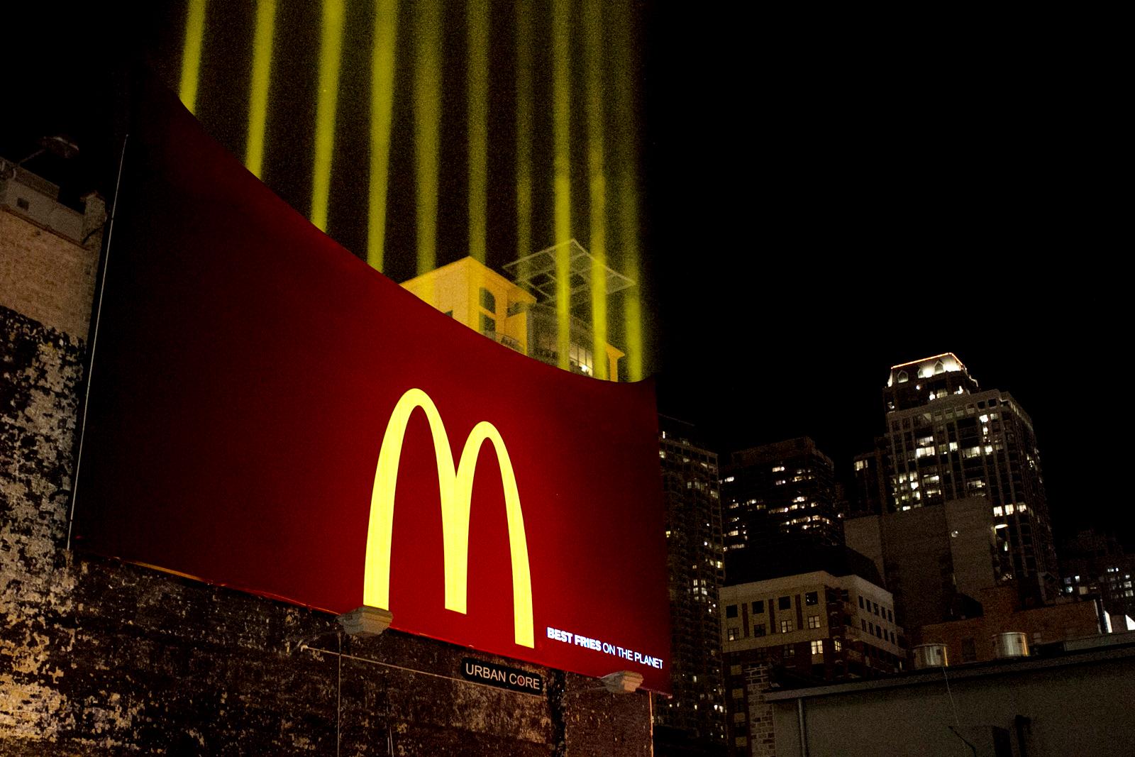 Publicidad marketing de guerrilla McDonalds