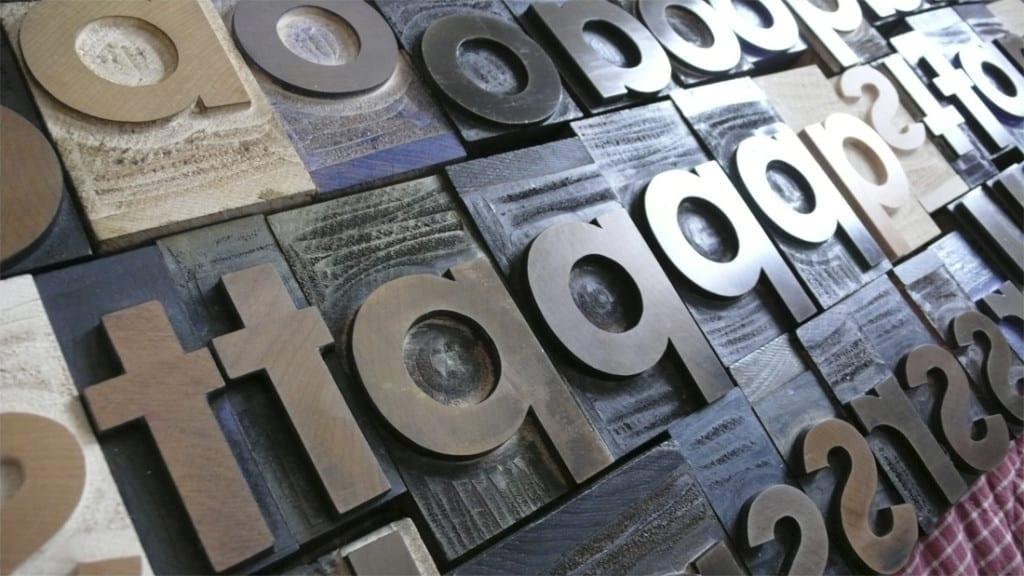 Descubrimos 10 de las tipografías preferidas de los diseñadores gráficos