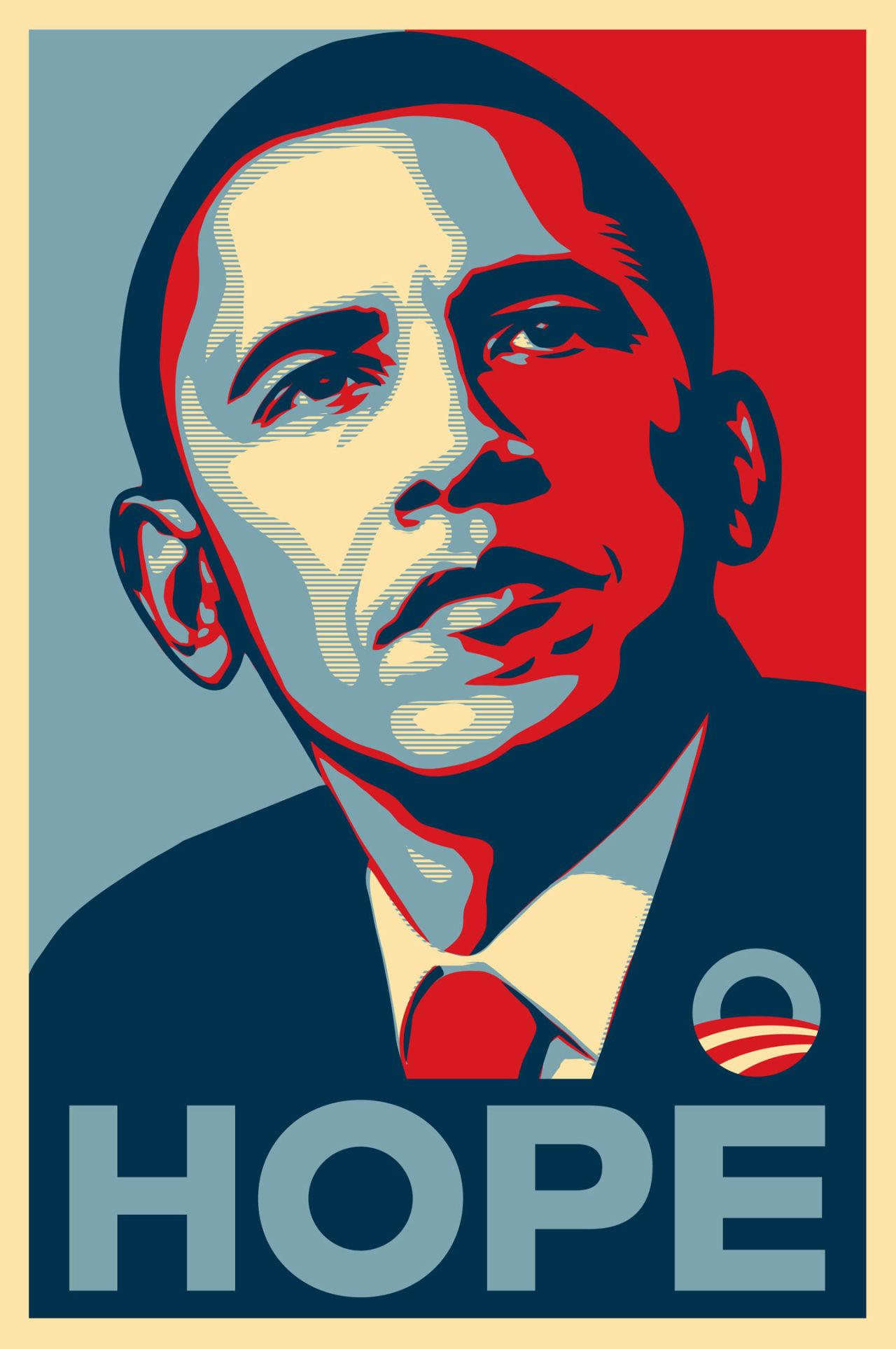 La tipografía Gotham fue utilizada en la campaña a la presidencia de los EEUU de Obama en el año 2008