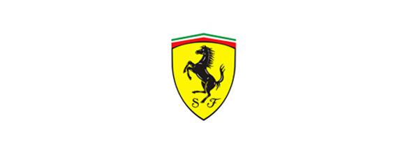 En el logotipo de Ferrari el caballo se incluyó en el logotipo como amuleto de buena suerte.
