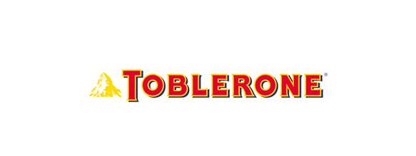 En el logotipo de Toblerone podemos observar un oso en negativo en la parte de la montaña.