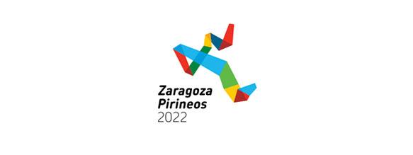 Logotipo diseñado por Estudio Mique y Jorge Rabadán, elegido para la candidatura de Zaragoza a las Olimpiadas de Invierno de 2022, Zaragoza-Pirineos
