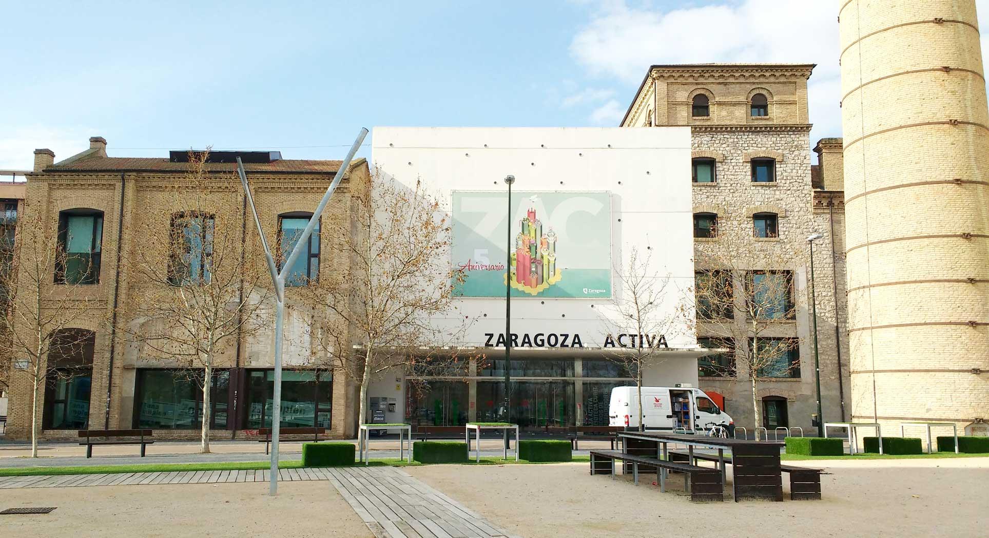 Zaragoza Activa building.