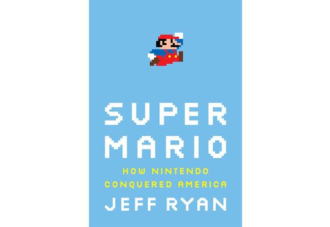 Portada del libro Super Mario del autor Jeff Ryan y diseñada por Dan Donohue