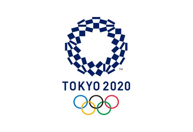 Logotipo oficial para los juegos olímpicos de Tokyo 2020 realizado por Asao Tokolo.