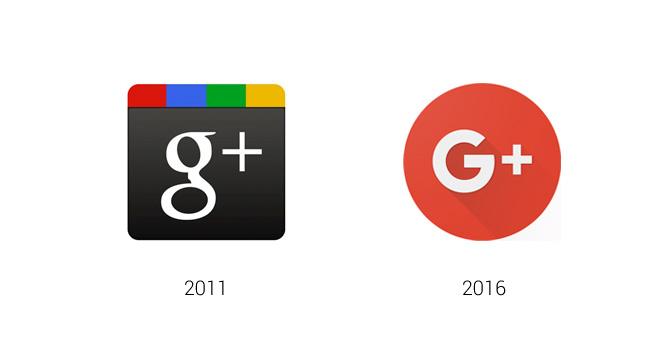 En septiembre de 2015 Google presentó la imagen de su nuevo logotipo, el resto de sus aplicaciones también cambiaron como es el caso de Google +