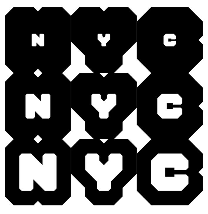 Se han creado tipografías exclusivas para esta nueva identidad, llamadas NYC Sans y NYC Block.
