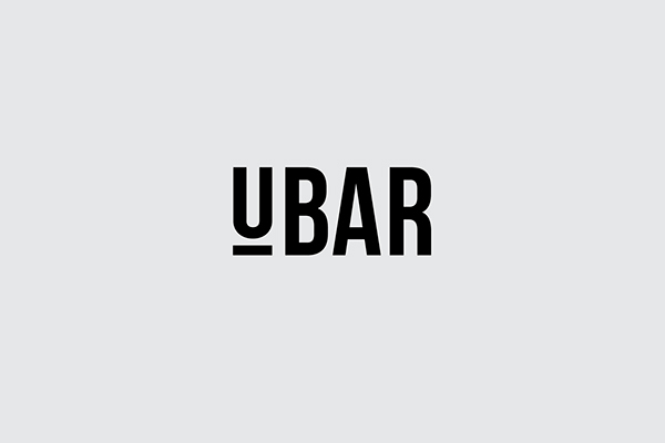 Restaurant bar counter