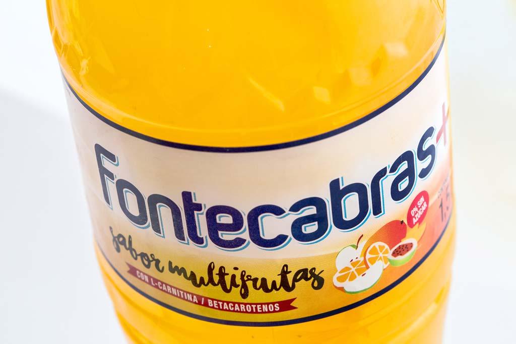 Diseño de etiqueta Fontecabras Sabores