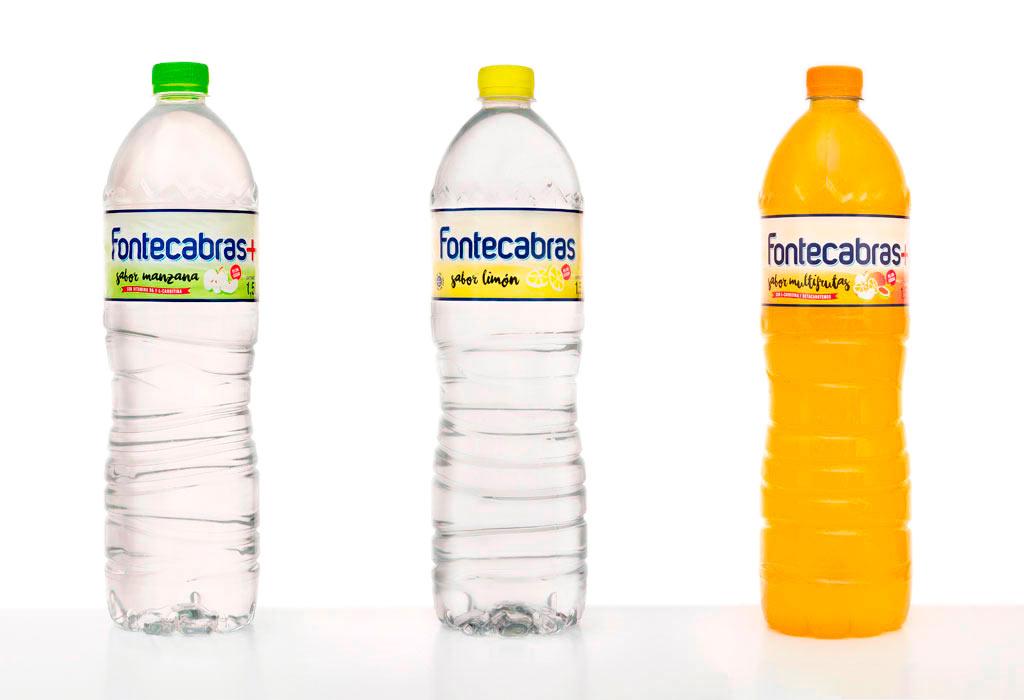 Diseño de etiquetas de Fontecabras Sabores