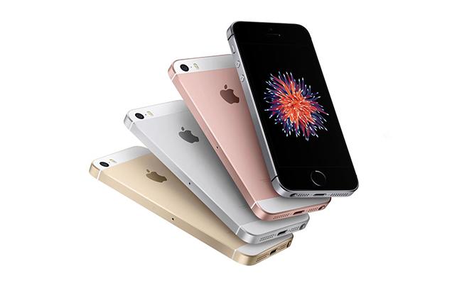 Diferentes acabados para el diseño del iPhone SE