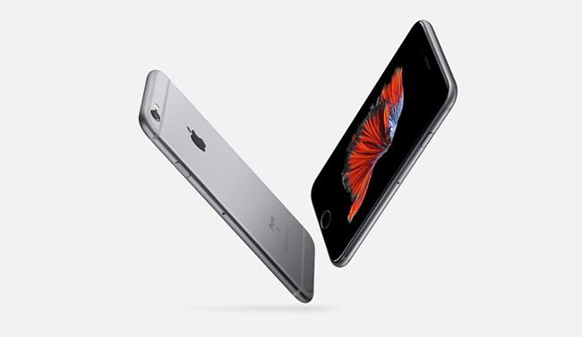 Diseño de iPhone 6S metalizado