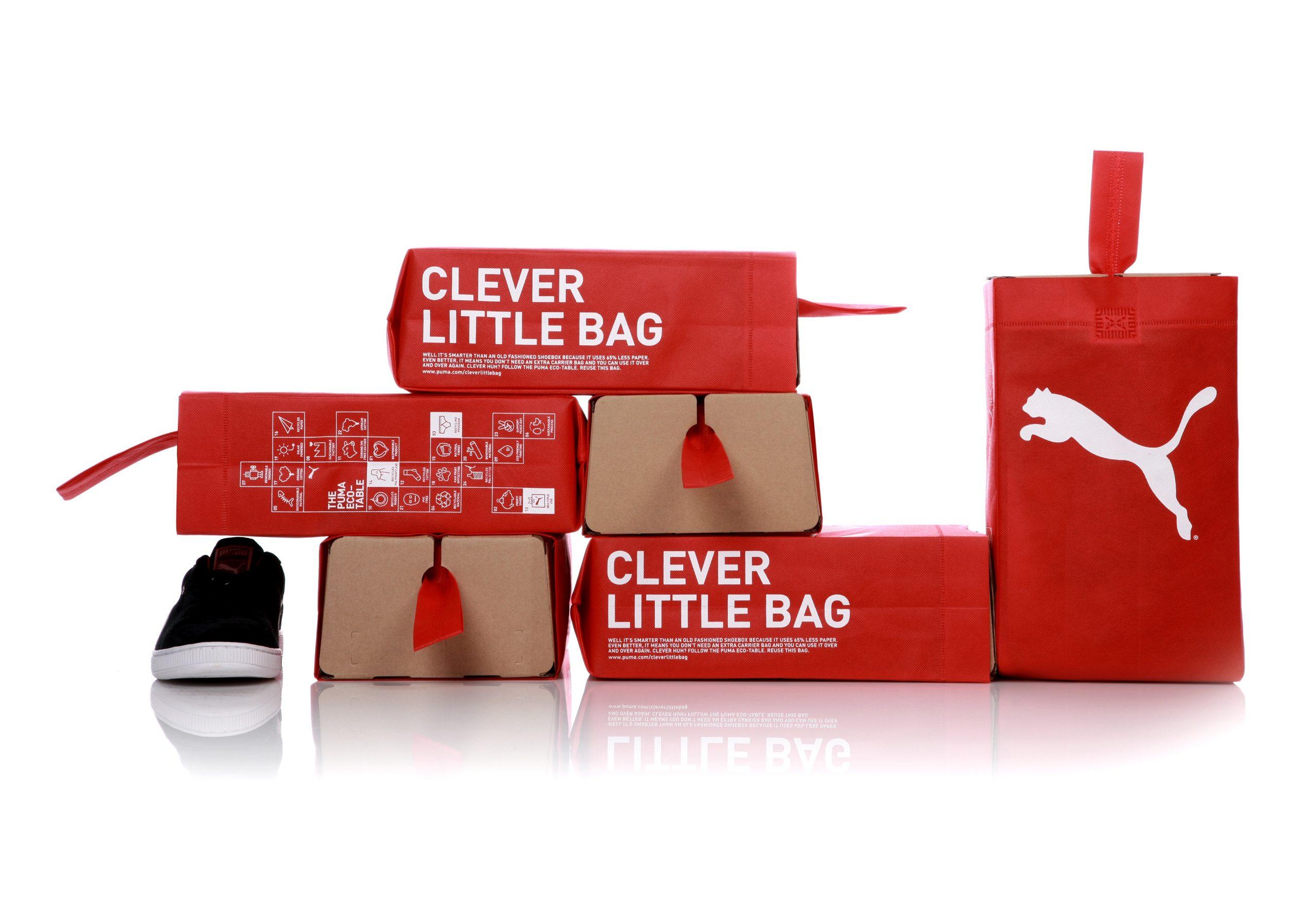 Diseño gráfico de envases para Puma.