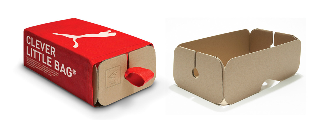 Clever Little Bag, nuevos envases sostenibles de Puma.