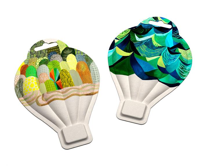 Diseño gráfico de envases para producto FibreForm.