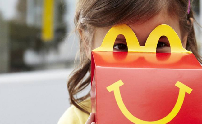 Marketing packaging McDonalds