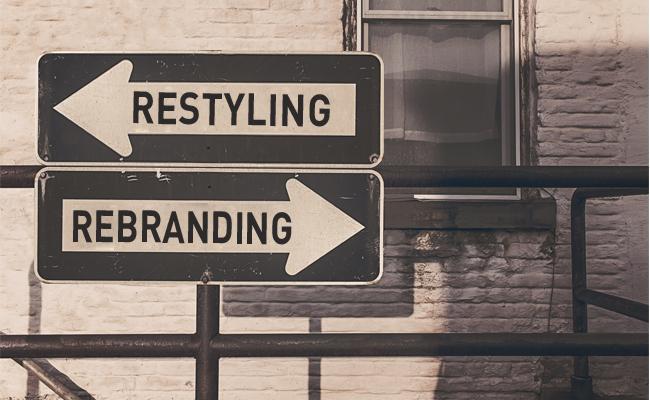 Restyling y Rebranding: dos métodos de diseño gráfico.
