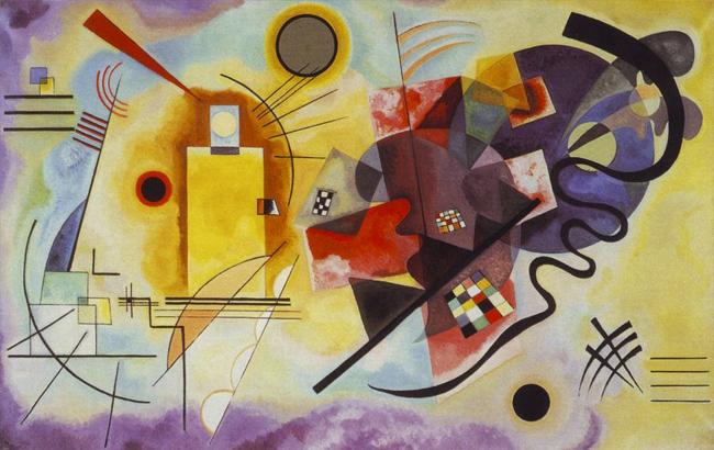 Sinestesia y diseño gráfico: El pintor ruso Wassily Kandinsky fue precursor del expresionismo abstracto y defensor de la sinestesia como un componente esencial del arte.