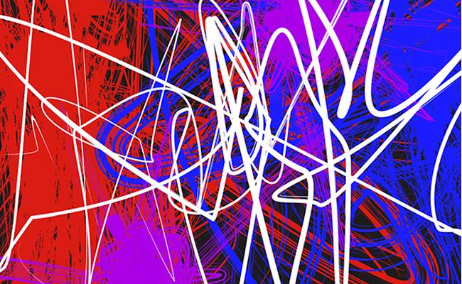 Diseño gráfico y Sinestesia: Liliana Valdez plasma visualmente composiciones basadas en canciones.