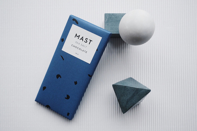 Packaging de chocolate de MAST