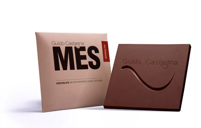 Packaging de chocolate de Guido Castagna