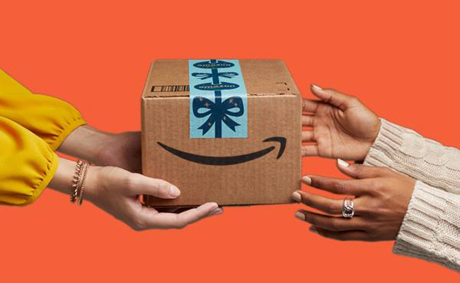 Packaging de Amazon como regalo