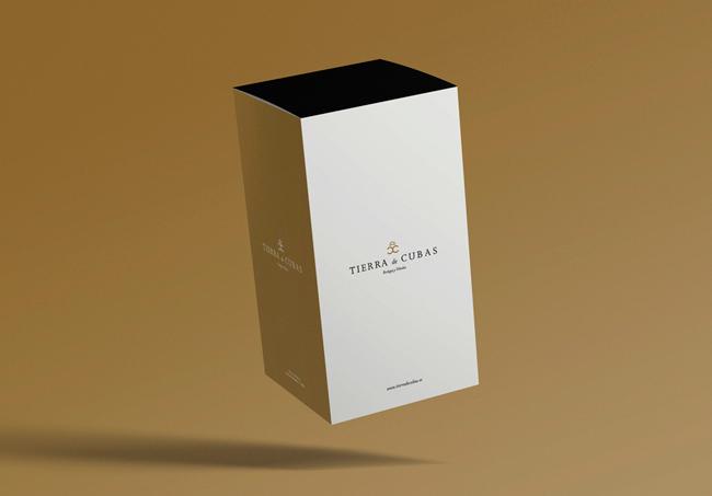 Diseño de packaging de Tierra de Cubas