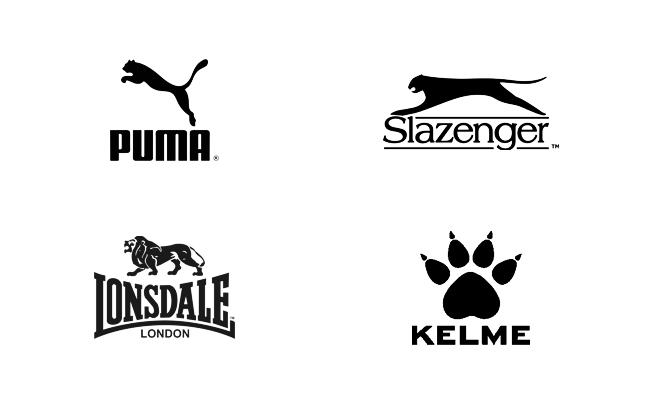 Logotipos de animales en deporte